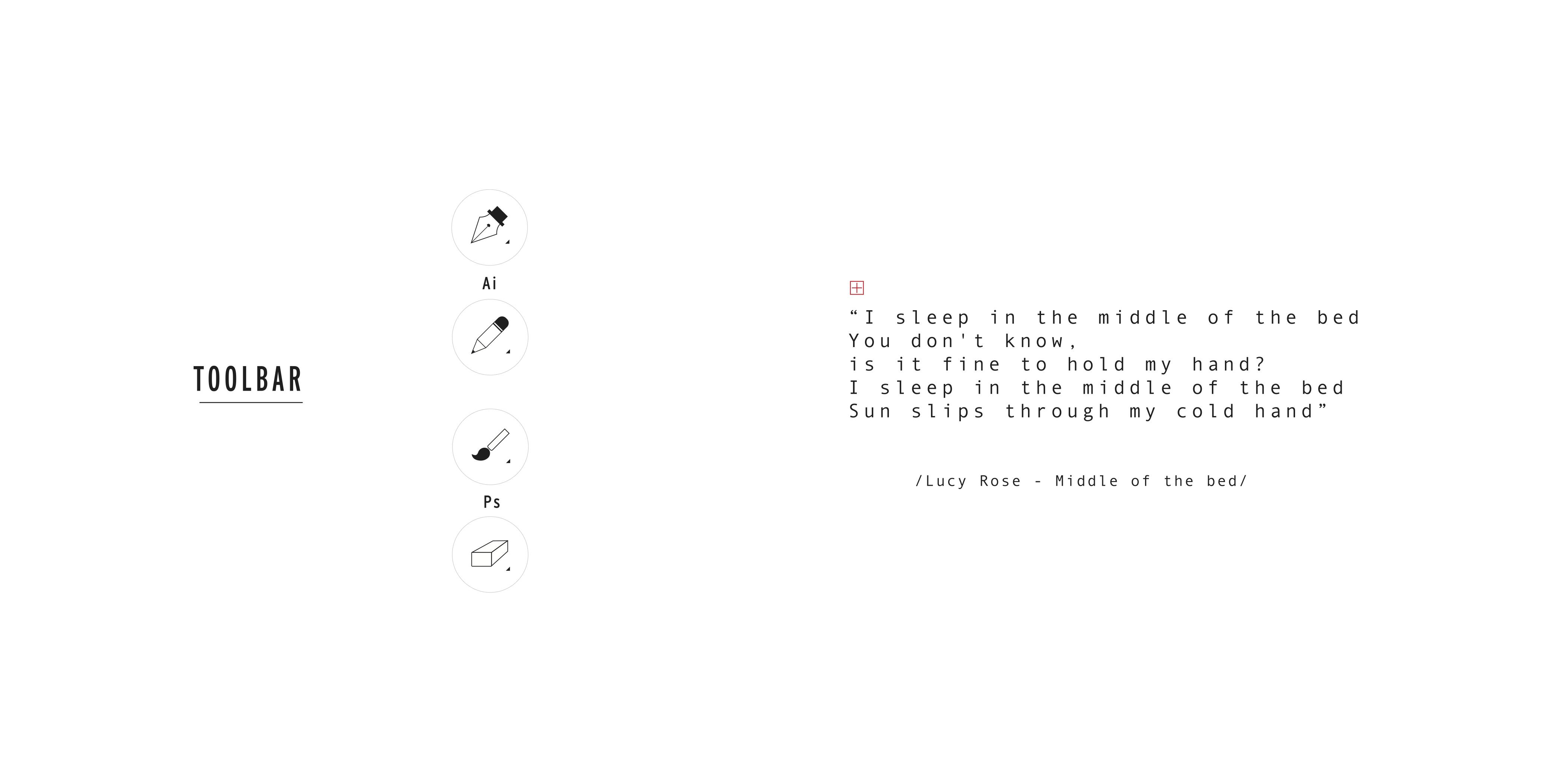 lyrics_MiddleOftheBed